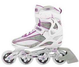 Фото 4 к товару Коньки роликовые женские Reaction Women's Inline Skates R206W-0P белые