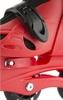 Коньки роликовые раздвижные детские Reaction RC16B-R9 красный/черный - фото 8