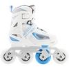 Коньки роликовые раздвижные детские Reaction TR15G0Z белый/синий - фото 2