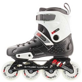 Коньки роликовые Reaction Inline skates URB14-BR черный/красный
