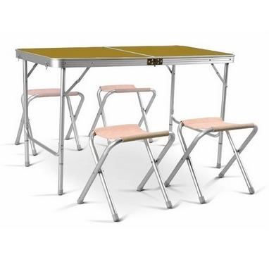 Стол раскладной + 4 стула TE 042 AS