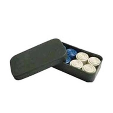 Шашки в пластмассовой коробке 624-423