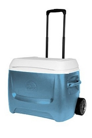 Фото 1 к товару Термоконтейнер Igloo Island Breeze MaxCold 50 R (47 л) синий
