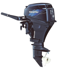 Мотор лодочный четырехтактный Tohatsu MFS15D S