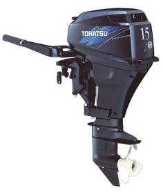 Мотор лодочный четырехтактный Tohatsu MFS15D L