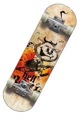 Мини-скейтборд Спортивная коллекция Hellboy jr new
