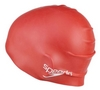 Шапочка для плавания детская Speedo Plain Moulde Silicone Junior Cap Red - фото 2