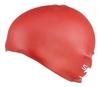 Шапочка для плавания детская Speedo Plain Moulde Silicone Junior Cap Red - фото 3