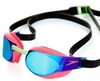 Очки для плавания Speedo Elite Goggles Mirror AU Pink/Green - фото 2