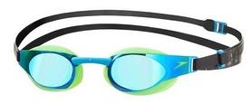 Фото 1 к товару Очки для плавания Speedo Elite Goggles Mirror AU Green/Blue