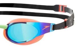 Фото 2 к товару Очки для плавания Speedo Elite Goggles Mirror AU Orange/Green
