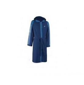Фото 1 к товару Халат для бассейна Head Cotton мужской (синий)