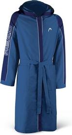 Фото 1 к товару Халат для бассейна Head Microfiber мужской (голубой)