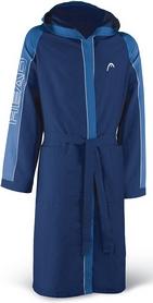 Халат для бассейна Head Microfiber мужской (синий)