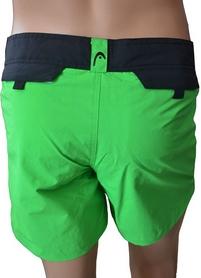Фото 3 к товару Шорты для плавания Head Blade мужские (черно-зеленые)