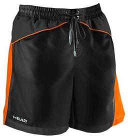 Шорты для плавания Head Watershorts Man 45 см мужские (черно-оранжевые)