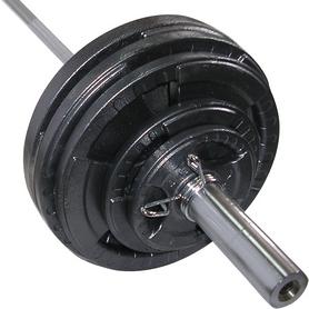 Фото 2 к товару Штанга олимпийская Newt 150 кг - гриф 2,2 м