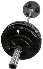 Фото 3 к товару Штанга олимпийская Newt 100 кг - гриф 2,2 м