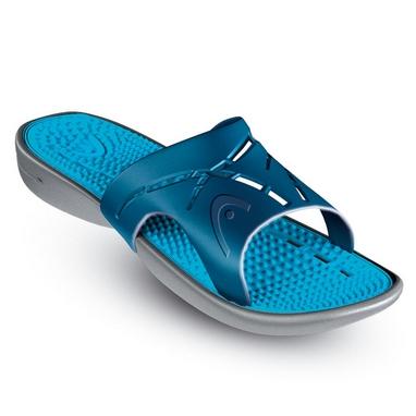 Тапочки для бассейна Head Chrono Massage голубые