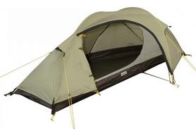 Палатка одноместная Wechsel Pathfinder 1 Zero-G (Sand) - коричневая + коврик Mola (922075)