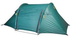 Палатка двухместная Wechsel Aurora 2 Zero-G -зеленая + коврик Mola, 2 шт (922085)