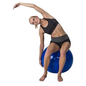 Фото 2 к товару Мяч для фитнеса (фитбол) Tunturi Gymball 55 см синий
