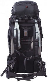 Фото 2 к товару Рюкзак туристический High Peak Sherpa 65+10 черный