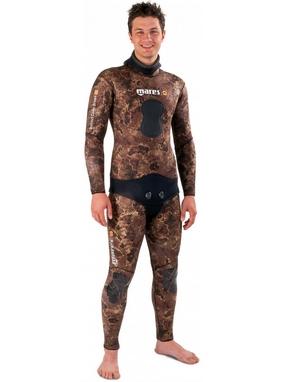 Штаны для дайвинга Mares Instinct Camo Brown (неопрен 5,5 мм)