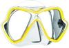 Маска для дайвинга Mares X-Vision 14 желто-белая - фото 1