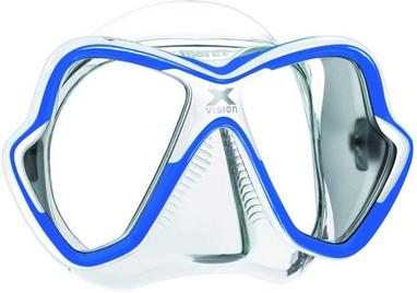 Маска для дайвинга Mares X-Vision 14 сине-белая