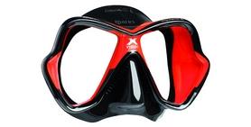 Маска для дайвинга Mares X-Vision Ultra LS черно-красная