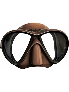 Маска для дайвинга Mares X-VU Liquidskin коричневая