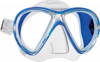 Маска для дайвинга Mares X-VU Liquidskin синяя