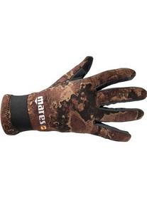 mares Перчатки для дайвинга Mares Amara Camo Brown (2 mm) 422754
