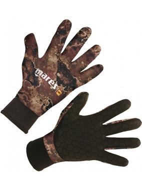 Перчатки для дайвинга Mares Camo Brown 3 мм