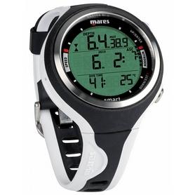 Часы для дайвинга Mares Smart чёрно-белые