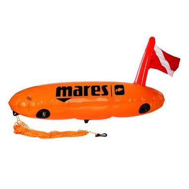 Буй Mares Torpedo с держателями снаряжения.