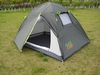 Палатка двухместная GreenCamp 1001-A серая