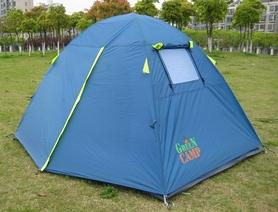 Фото 2 к товару Палатка двухместная GreenCamp 1001-B синяя