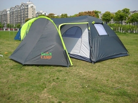 Фото 3 к товару Палатка четырехместная GreenCamp 1009