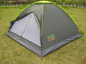 Фото 1 к товару Палатка трехместная GreenCamp 1012