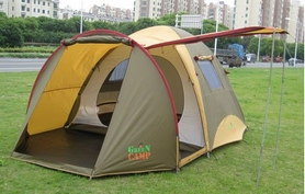 Фото 2 к товару Палатка четырехместная Х-1036 GreenCamp