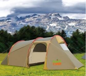 Палатка трехместная GreenCamp Х-1017