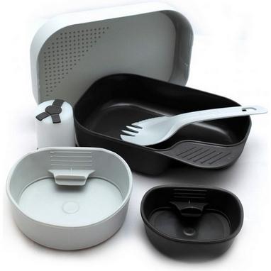 Набор посуды Wildo Camp-A-Box Complete light grey W102610