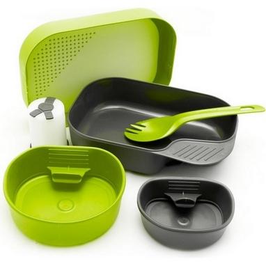 Набор посуды Wildo Camp-A-Box Complete lime W10267