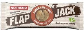 Батончик протеиновый Nutrend Flap Jack 100 г (плюшка с корицей)