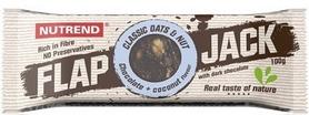 Батончик протеиновый Nutrend Flap Jack 100 г (шоколад+кокос в черном шоколаде)