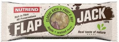 Батончик протеиновый Nutrend Flap Jack 100 г (яблоко+грецкий орех)