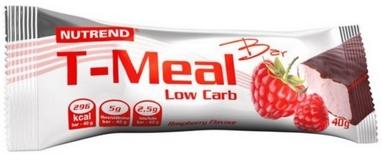 Батоничик Nutrend T-Meal Bar Low Carb  40 г (малина)