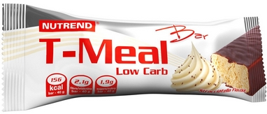 Батоничик Nutrend T-Meal Bar Low Carb  40 г (страчателла)